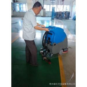 洗地机车间地面用 拓威克TK500移动式洗地机 电动自走式洗地一体机