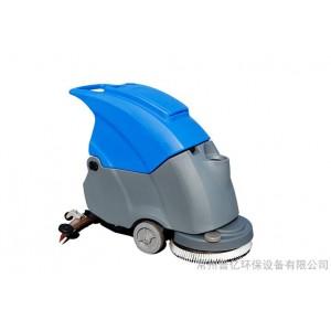 拓威克工业洗地机 TK500电瓶式洗地吸干机 手推式洗地机价格