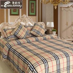 郭老汉家纺 纯棉老粗布四件套 床上用品 批发 淄博床品套件/四件套/多件套