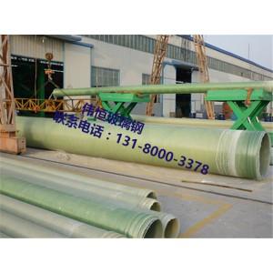 玻璃钢夹砂管道 玻璃钢夹砂管制作工艺 玻璃钢排风管道 玻璃钢风管生产厂家