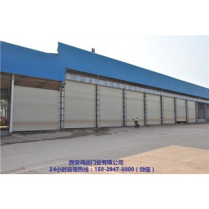 西安电动伸缩门定做公司 西安电动卷闸门生产厂家