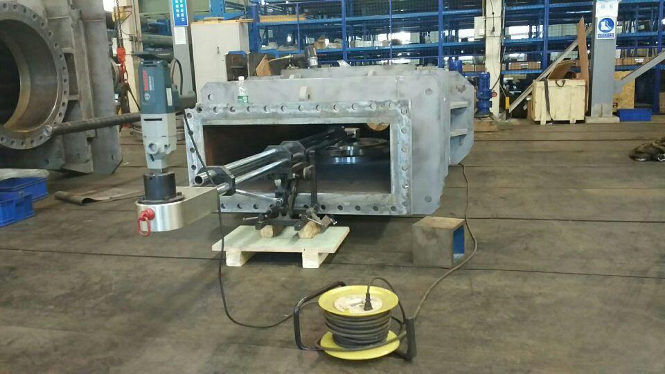 华沃MZ-1200型电动闸阀研磨机厂家直销