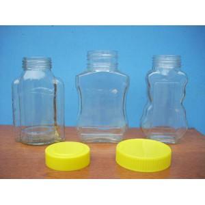 徐州透明玻璃塑料盖玻璃罐厂家定制 徐州透明玻璃塑料盖玻璃罐厂价直销