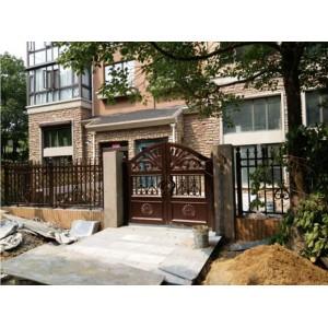 上海铝艺庭院大门生产厂家 上海铝艺庭院大门价格
