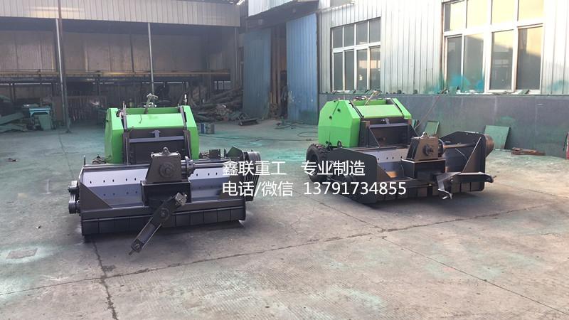 黑龍江玉米秸稈粉碎打捆機價格 秸稈揉絲粉碎打捆機生產廠家