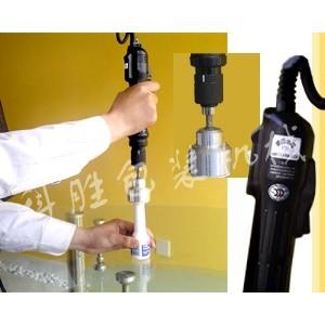 内蒙古包头市科胜手持电动油桶旋盖机