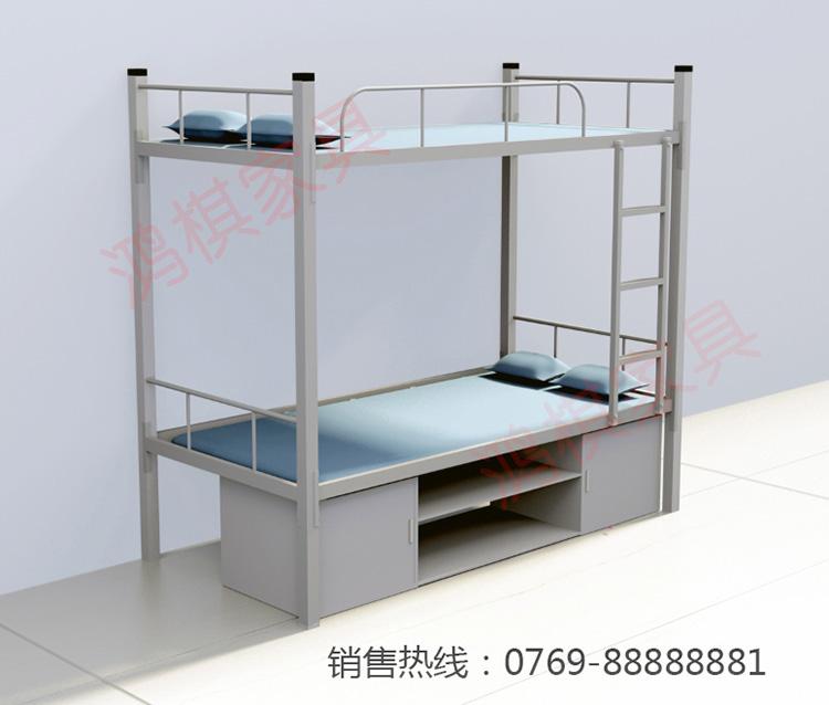 韶關員工上下架鐵床宿舍雙層床定制批發