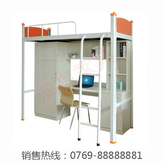 广州学校学生公寓床宿舍公寓床批发