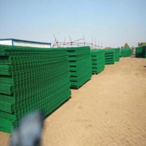 基坑厂家公路交通护栏网边框护栏网双边丝护栏欢迎来厂参观