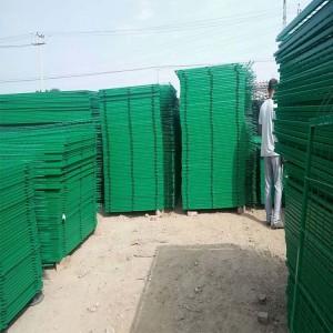 厂家烤漆空地围栏网浸塑护栏网双边丝护栏坚固