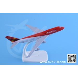 金属飞机模型 波音 B747-400 哥伦比亚航空 1:400