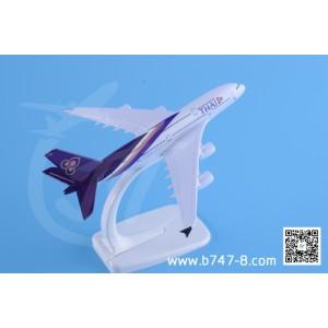 金属飞机模型 空客 A380 泰国航空 1:400