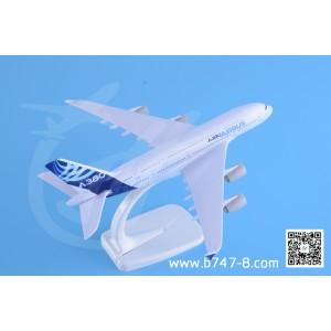 金属飞机模型 空客 A380 空客原型机 1:350