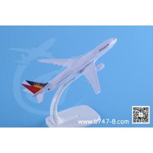 金属飞机模型 空客 A330 菲律宾航空 1:400