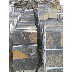 贵州青石板地铺石施工 贵州青石地铺石供应 厂家直销青石地铺石