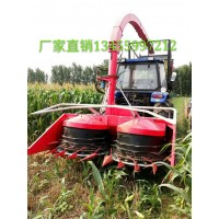 新式自走式小型玉米秸秆青储收割机 牧草储备机械 青储机割台