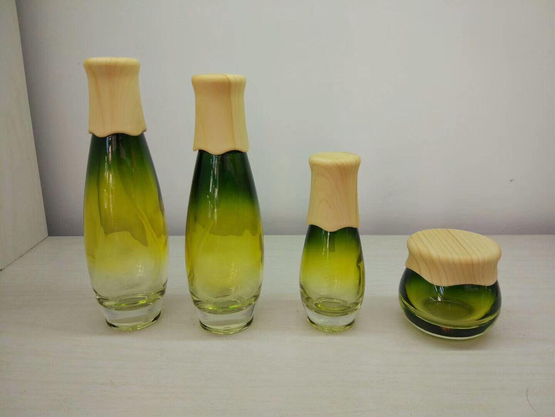 電鍍化妝品包裝瓶廠家 玻璃瓶工廠 護膚品包裝瓶批發商