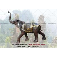 厂家订做-铜大象摆件-文禄