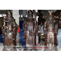 铜财神像-道教神像供应-厂家文禄