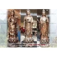 西方三圣供应-铜观音像厂家-文禄