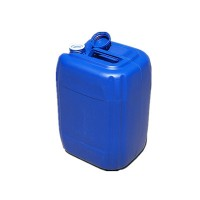 加强筋25L塑料桶蓝色25升堆码塑料桶