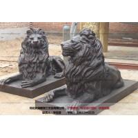铜狮子雕塑-销售厂家-文禄