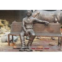 人物雕塑批发厂家-文禄
