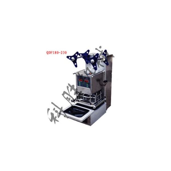 唐山科胜塑料盒自动封口机|口杯封口机|河北封口机