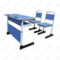 双人位课桌椅,广东佛山鸿美佳提供学生两人位课桌椅