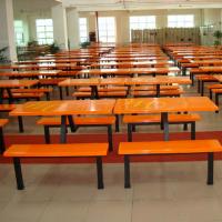 玻璃钢餐桌椅,广东鸿美佳厂家提供饭堂玻璃钢快餐桌椅
