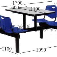 塑钢餐桌椅,饭堂员工塑钢餐桌椅广东鸿美佳厂家定制