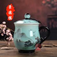 景德镇手绘茶杯定制厂家