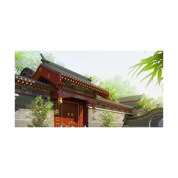 古建寺庙设计,古建寺院设计、古建寺庙效果图设计