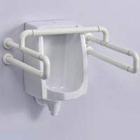 卫生间小便斗扶手老人残疾人不锈钢小便器无障碍厕所便池扶手