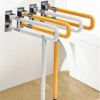 无障碍马桶折叠扶手栏杆卫生间残疾人老人安全厕所浴室坐便起身器