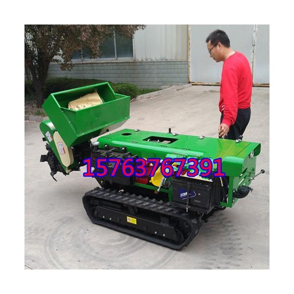 小型自走式农用开沟机 多功能施肥器 自走式旋耕机多少钱一台