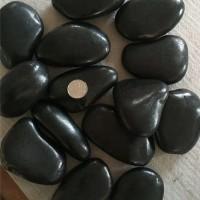 陕西黑色雨花石厂家 湖南黑色雨花石价格