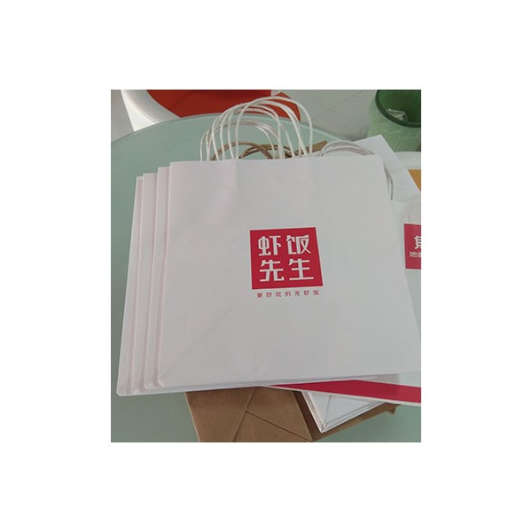 白牛皮纸环保袋设计制作印刷