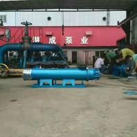 高扬程池用卧式热水深井泵-天津潜水泵厂家(潜成)品质至上