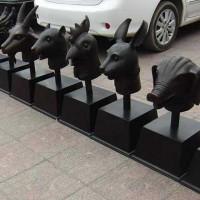 铜香炉制作-铜雕工艺品-文禄