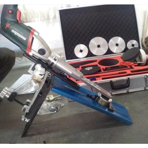 吉安华沃品牌电动闸阀研磨机,便携式,在线研磨
