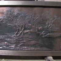 铜浮雕制作-大型铜浮雕壁画-文禄