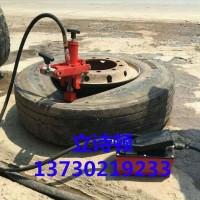 拆胎器便携式扒胎器 可移动工程车铲车轮胎拆胎机 气动液压