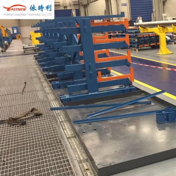 珠三角伸缩式悬臂货架 抽屉式货架生产厂家