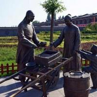 现代人物雕塑销售-人物景观雕塑-志彪