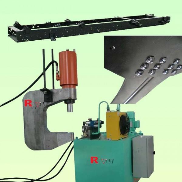 汽車大梁鉚接機XGM-16,車架鉚接機,懸掛式鉚接機