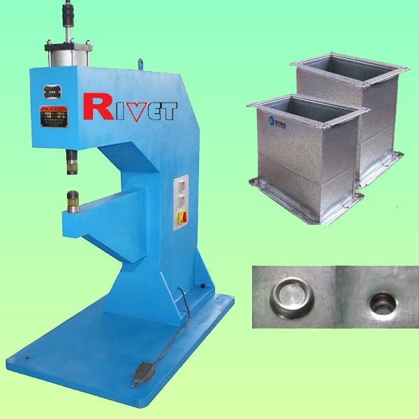 無鉚釘鉚接機WMZ-8,氣液增壓無鉚釘鉚接機,TOX鉚接機
