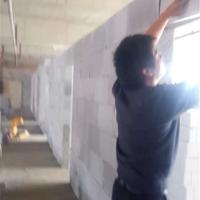 蚌埠加气块砖隔墙施工安装厂家