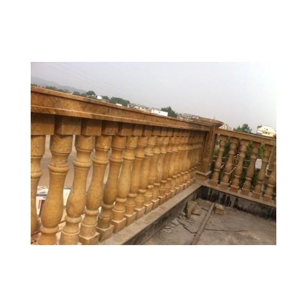 虎皮黄铺地石 虎皮黄外墙干挂石材 河北厂家定制加工