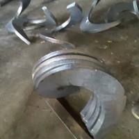 螺旋叶片 绞龙叶片 碳钢,不锈钢,锰钢材质单片可定制